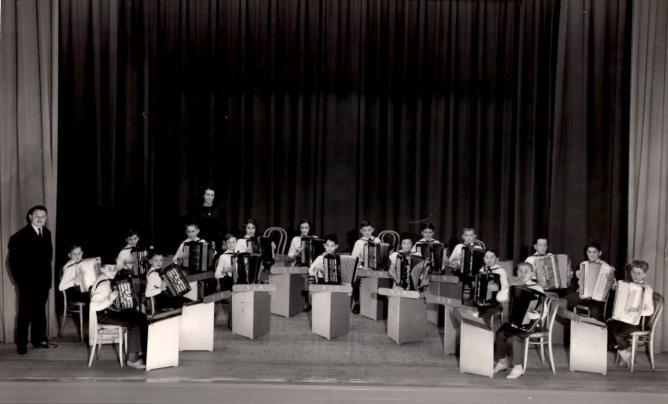 Orchestre des petits. Année 1961 ou 1962