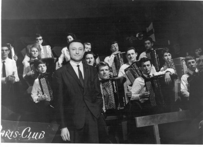 Photo 1965 Paris Club. Présentation du Festival