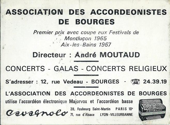 Andre moutaud et son orchestre dos 1