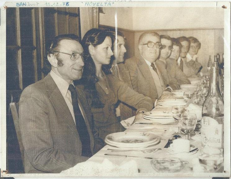 Banquet 1976 au novelta 4