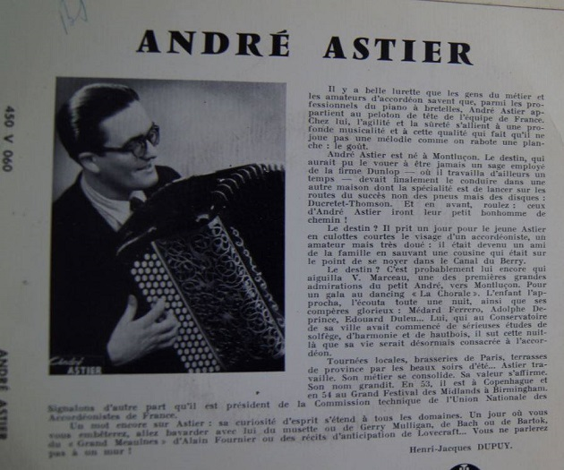 Hommage a andre astier c