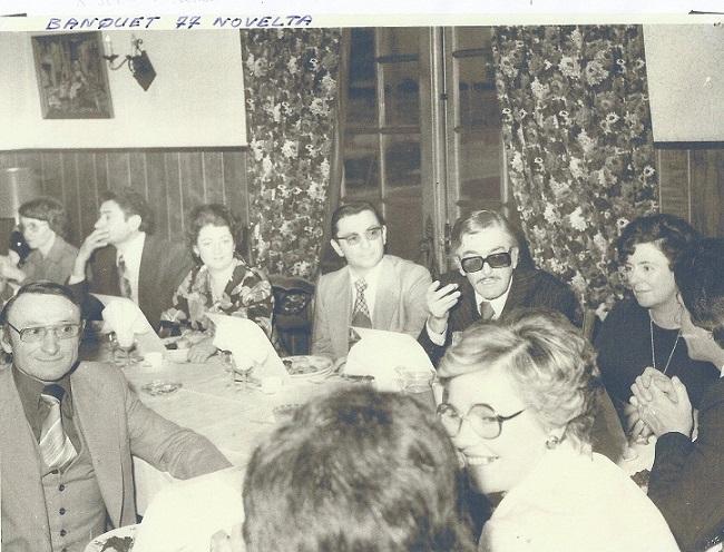 Michon r astier a et cie banquet 1977 a 1