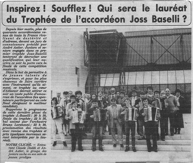 Trophee joss baselli 1981 a 1